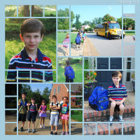 Photo Collage Back To School