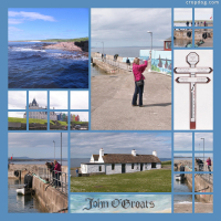 Photo Collage John O'Groats