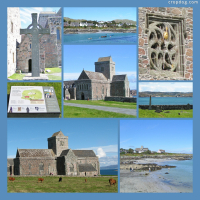 Photo Collage Iona Abbey