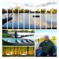 Photo Collage #20: Row Around The Lake A