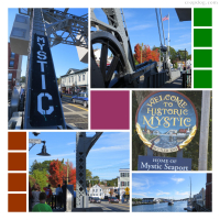 Photo Collage Mystic Seaport