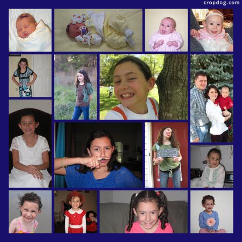 Photo Collage 12 Years