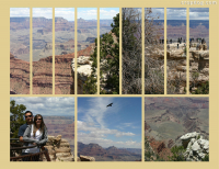Photo Collage Grand Canyon