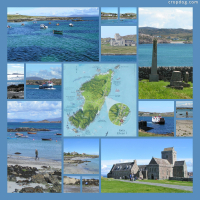 Photo Collage An Idyllic Day On Iona