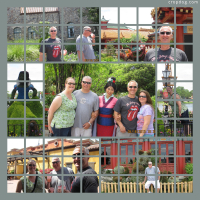 Photo Collage Epcot, Walt Disney World