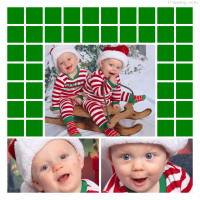 Photo Collage My First Christmas