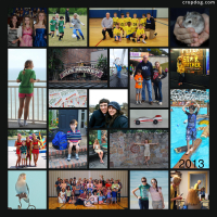 Photo Collage Year In Review - 2013