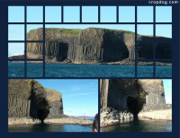 Photo Collage Isle Of Staffa, Scotland