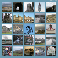 Photo Collage Many Things Welsh