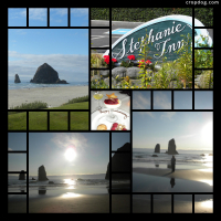 Photo Collage Oregon Coast