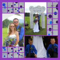 Photo Collage Terry & Amanda's Wedding