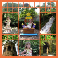 Photo Collage Queen Of The Garden