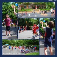Photo Collage Neighborhood Celebration