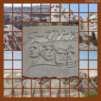 Photo Collage Mount Rushmore