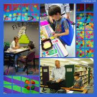 Photo Collage Summer Reading Program