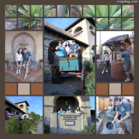 Photo Collage Mormon Battalion Historic Site